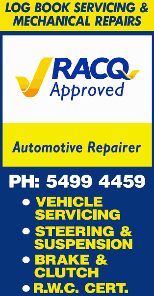 RACQ Approved Mechanic and repairer Caboolture